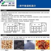 工业耐高温除湿机HJ-8168GW 食品药材海鲜高温烘干